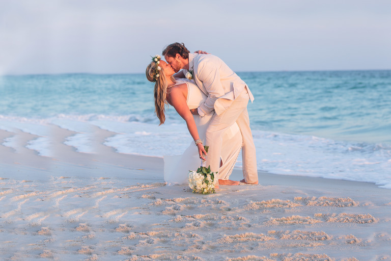 beach wedding phography